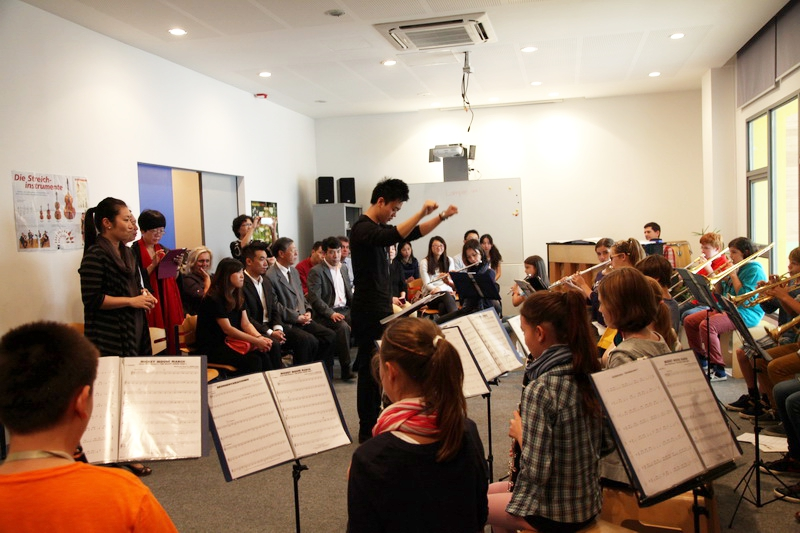 Music in the classroom - German School Pudong